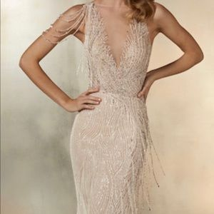 NEW Pronovias - The Universe Beaded Dress